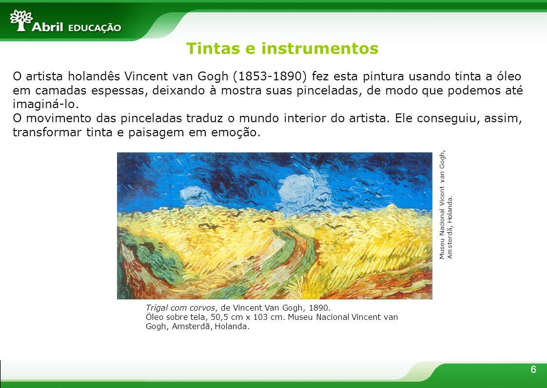 Tintas e instrumentos