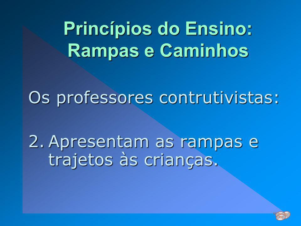 Princípios do Ensino: Rampas e Caminhos