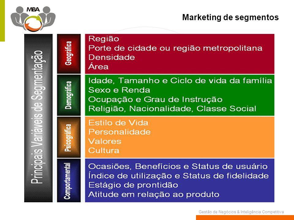 Marketing de segmentos
