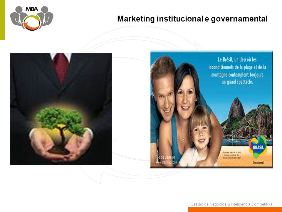 Marketing institucional e governamental