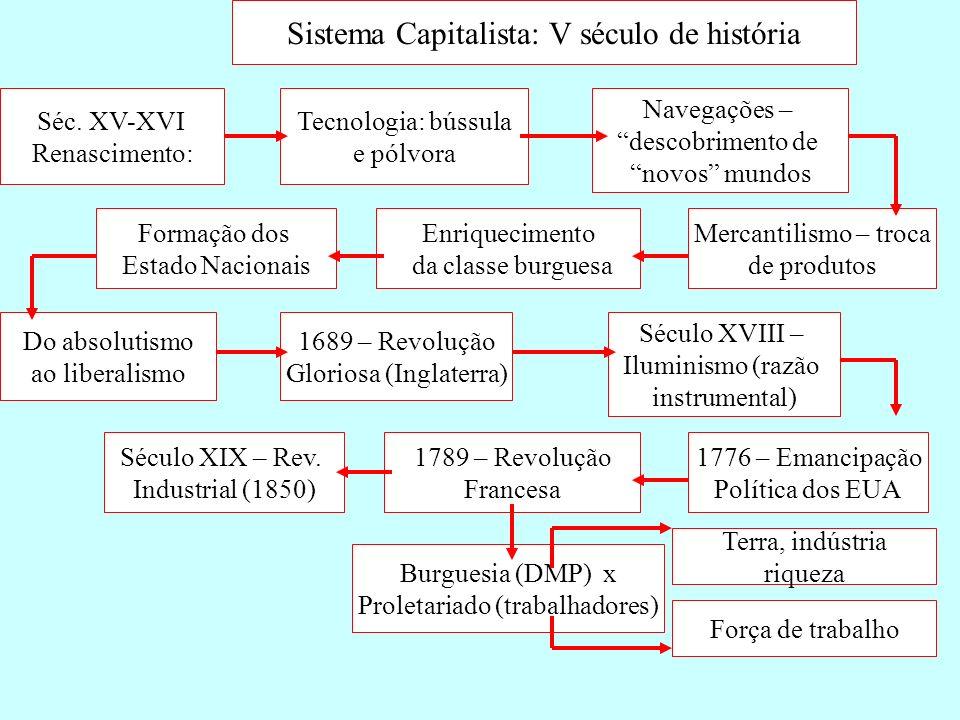 Sistema Capitalista: V século de história