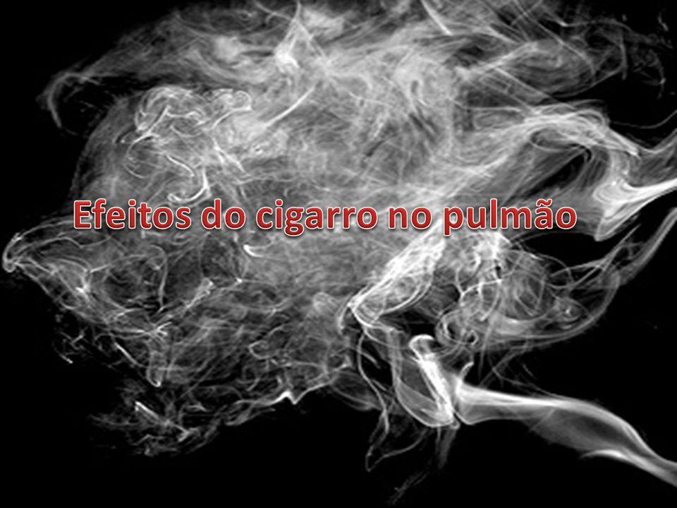 Efeitos do cigarro no pulmão