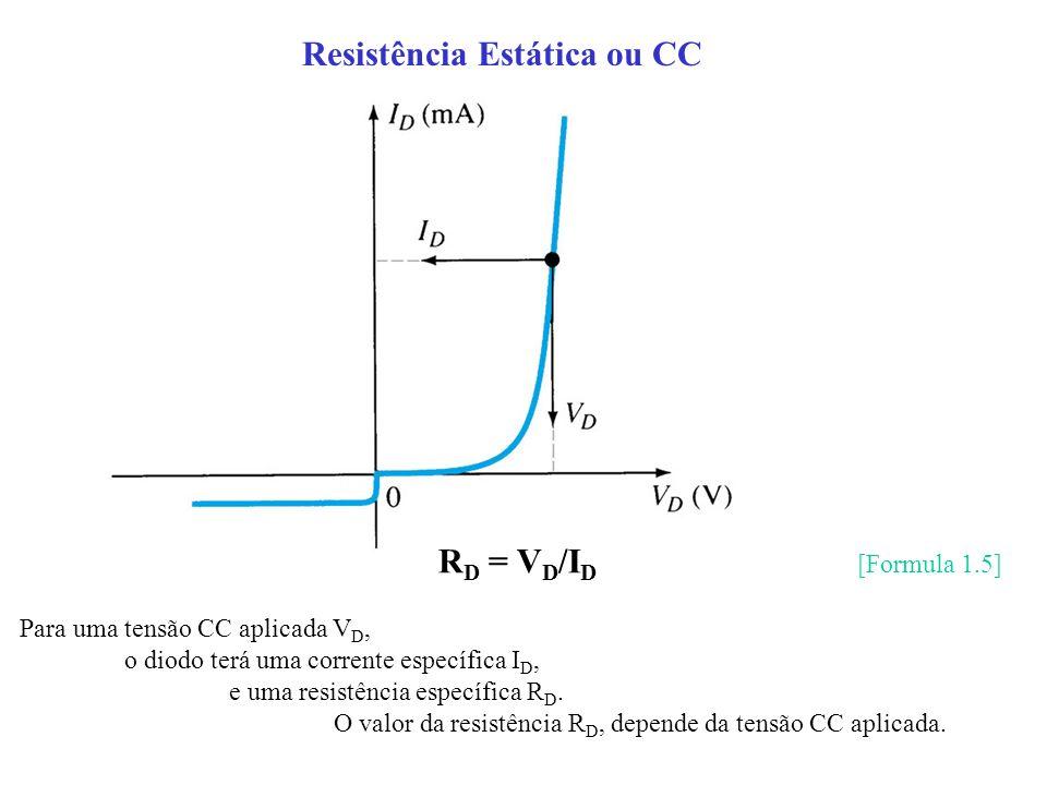 Resistência Estática ou CC