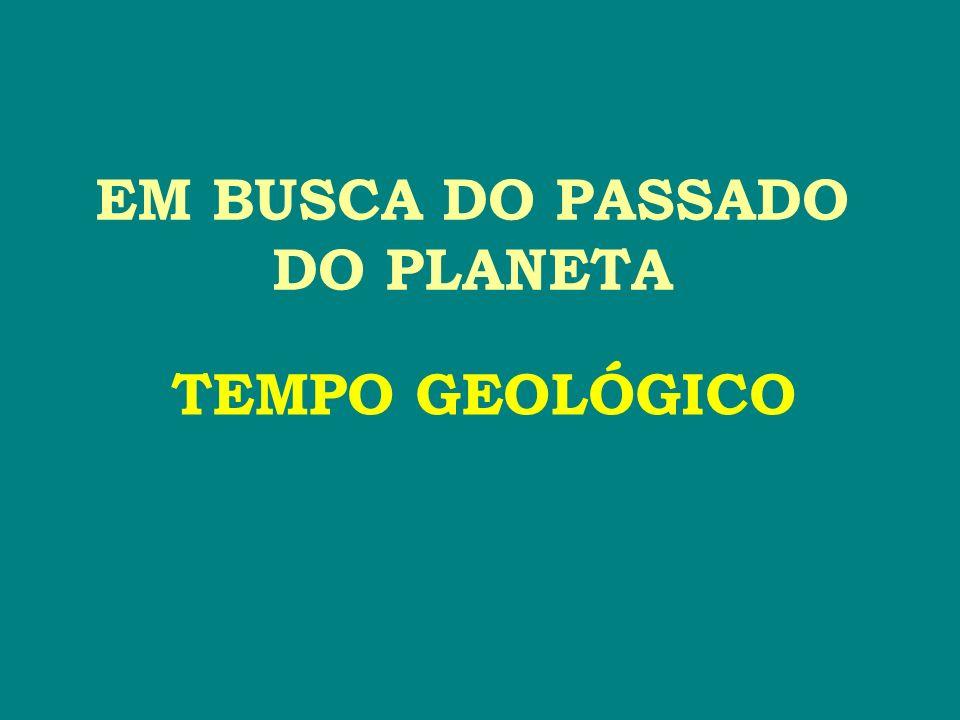 EM BUSCA DO PASSADO DO PLANETA