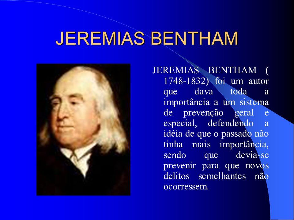 JEREMIAS BENTHAM