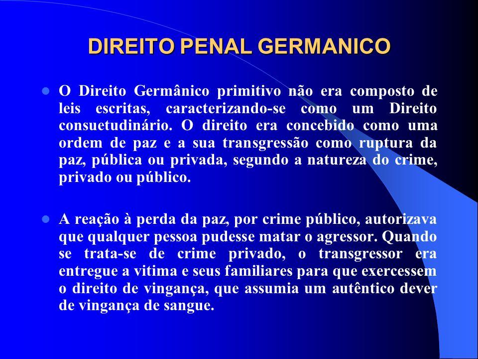 DIREITO PENAL GERMANICO