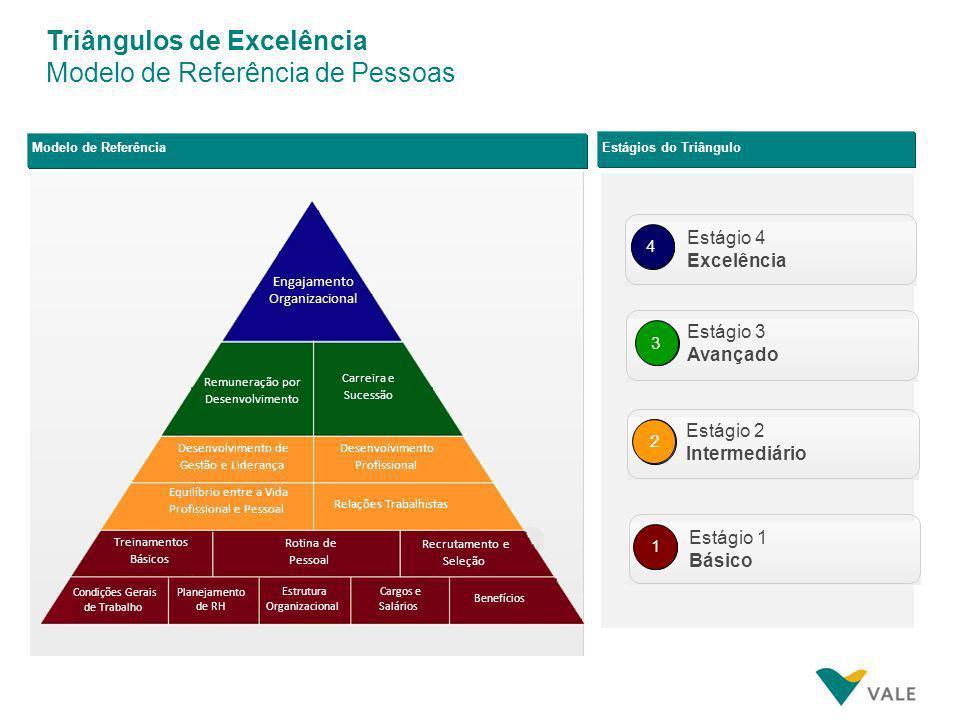 Triângulos de Excelência Modelo de Referência de Pessoas
