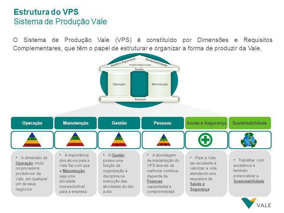 Estrutura do VPS Sistema de Produção Vale