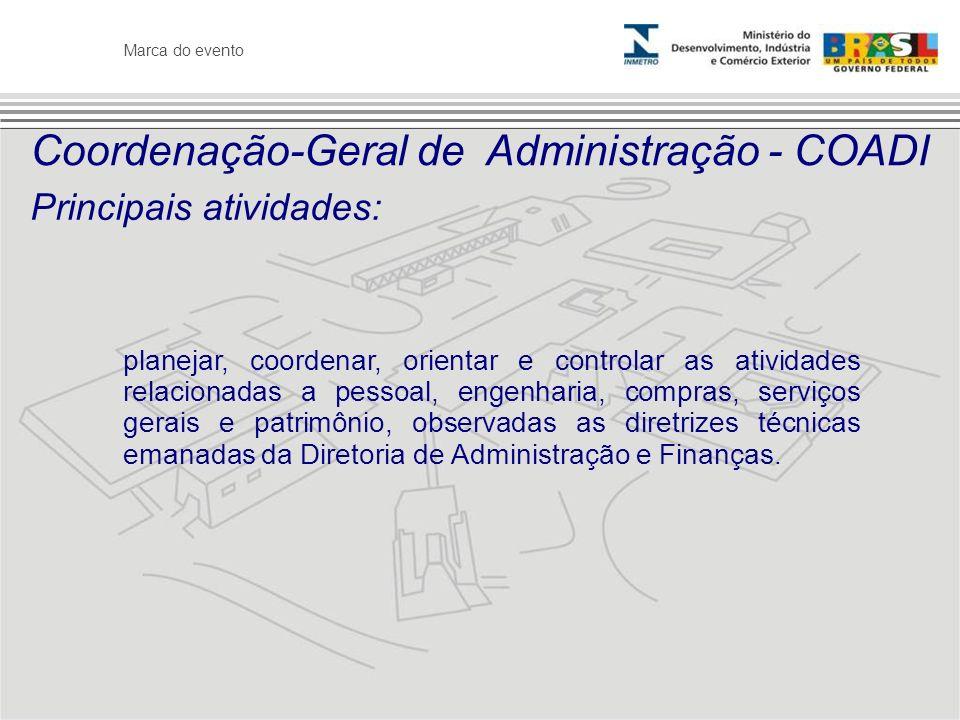 Coordenação-Geral de Administração - COADI