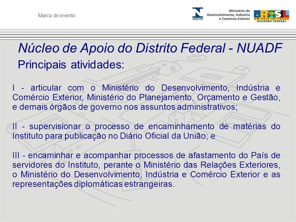 Núcleo de Apoio do Distrito Federal - NUADF