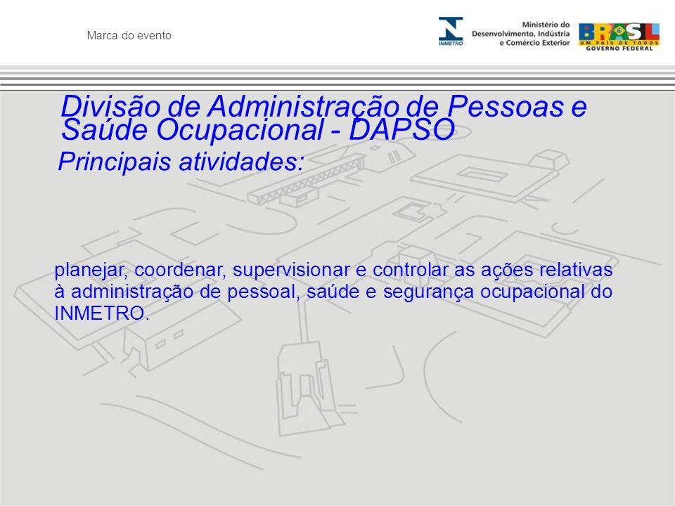 Divisão de Administração de Pessoas e Saúde Ocupacional - DAPSO