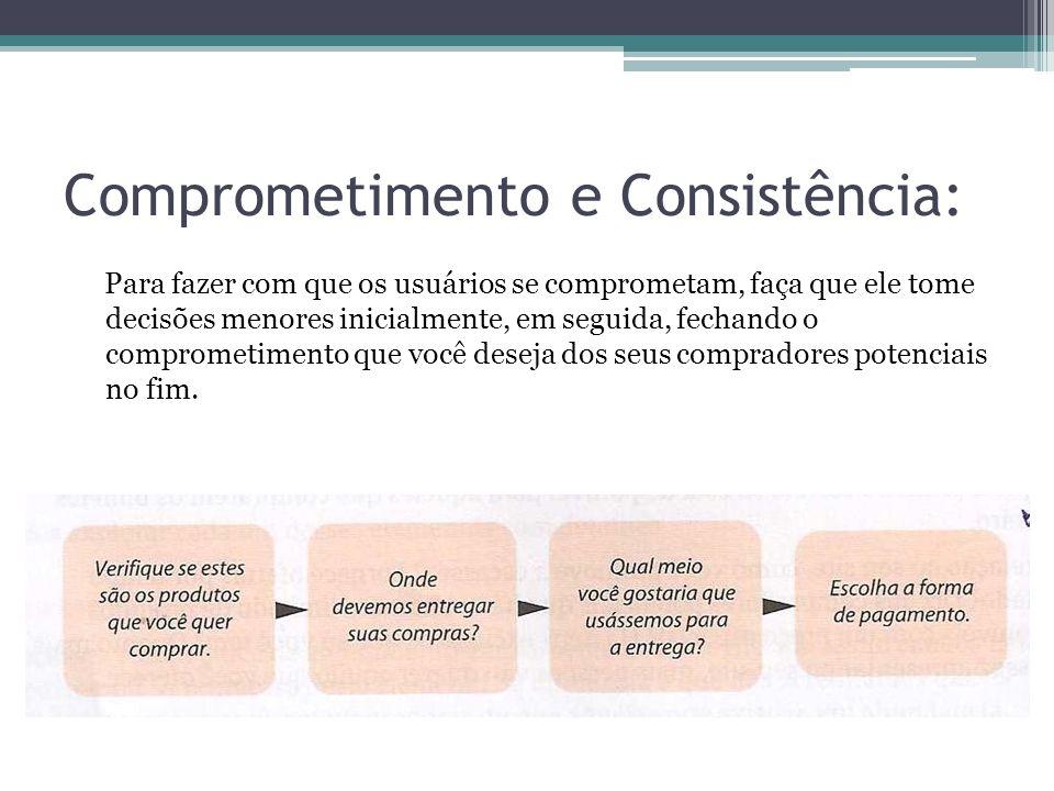 Comprometimento e Consistência: