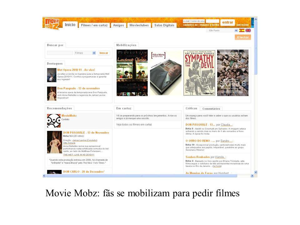 Movie Mobz: fãs se mobilizam para pedir filmes