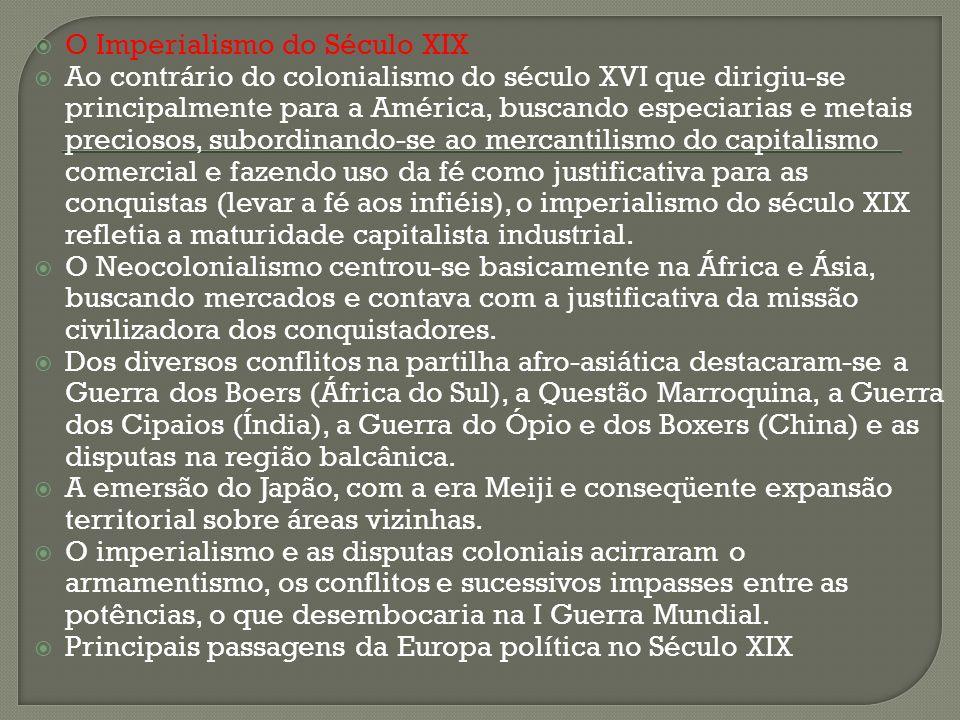 O Imperialismo do Século XIX