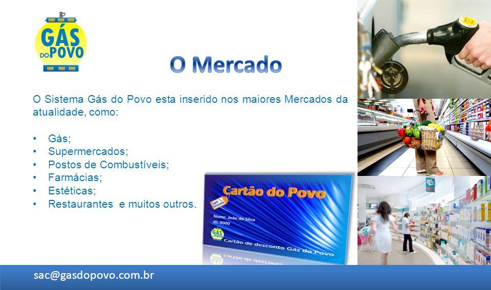 O Mercado sac@gasdopovo.com.br