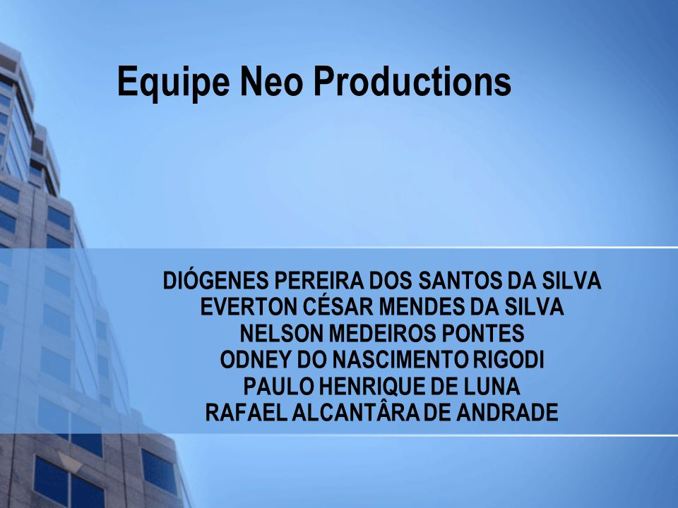 Equipe Neo Productions