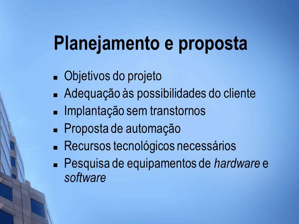 Planejamento e proposta