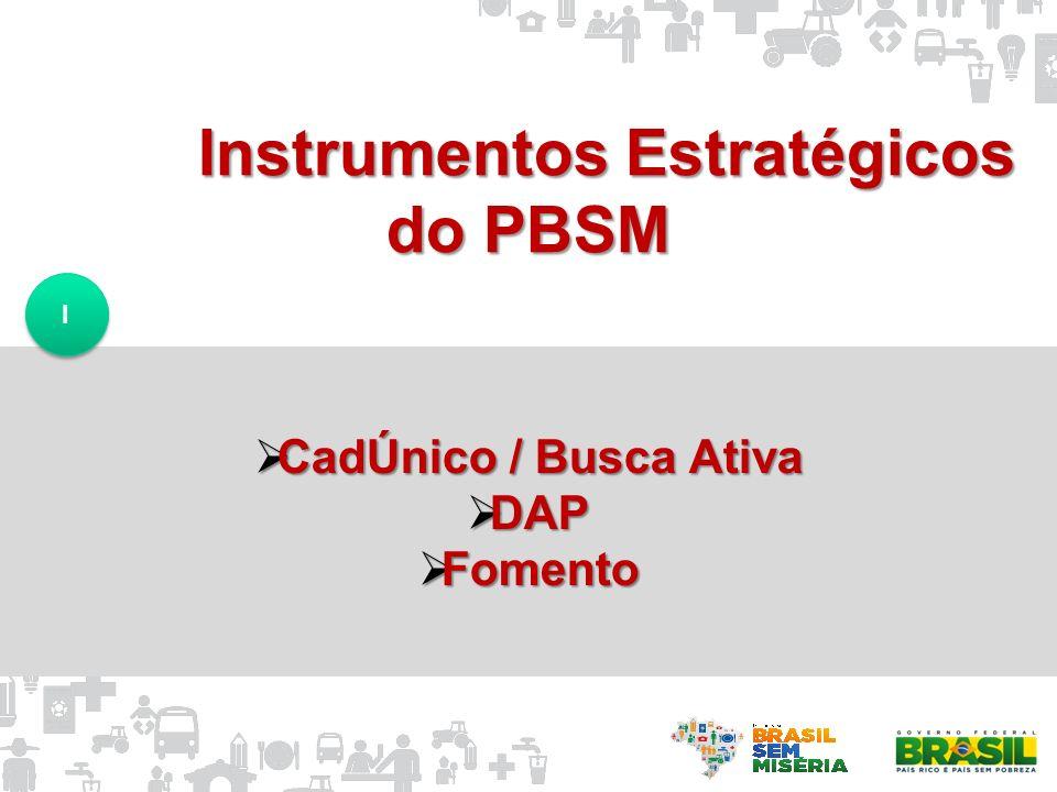 Instrumentos Estratégicos do PBSM