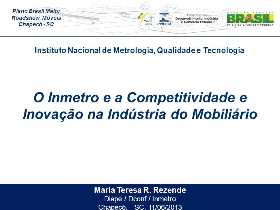 O Inmetro e a Competitividade e Inovação na Indústria do Mobiliário