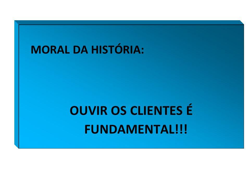 OUVIR OS CLIENTES É FUNDAMENTAL!!!