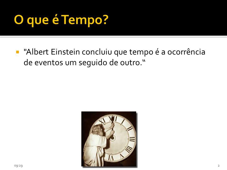 O que é Tempo.