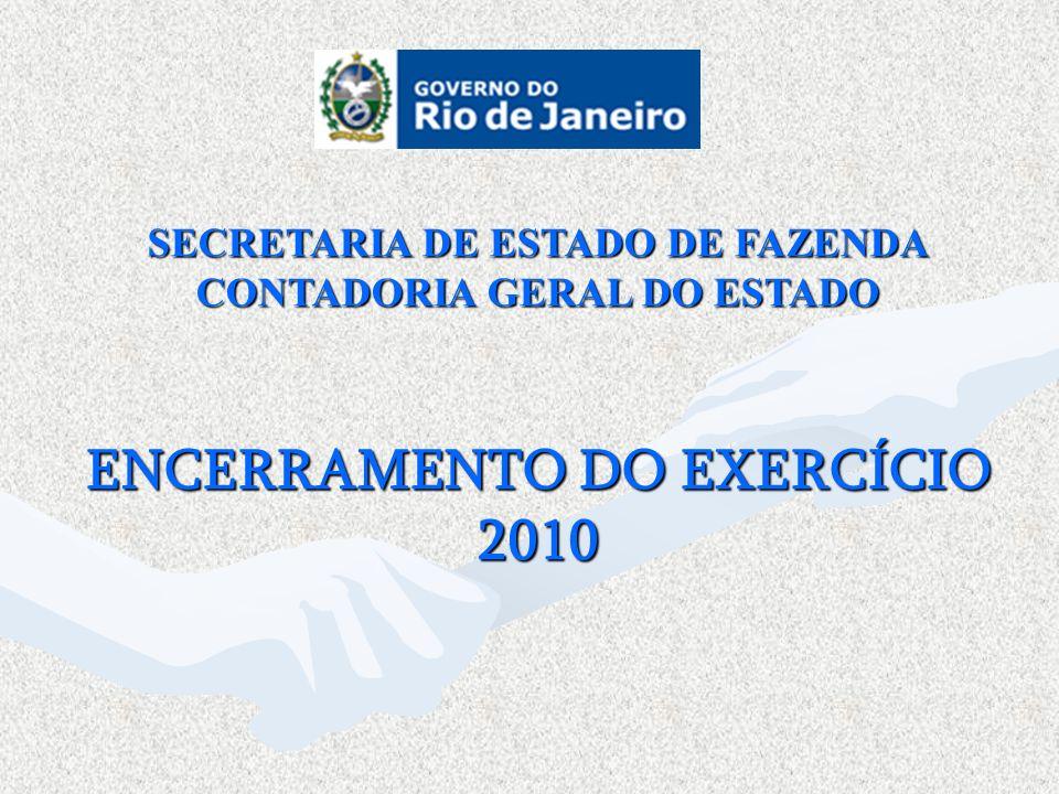 ENCERRAMENTO DO EXERCÍCIO 2010