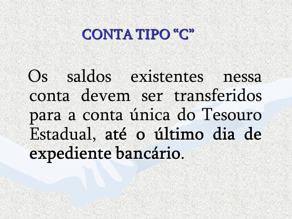 CONTA TIPO C
