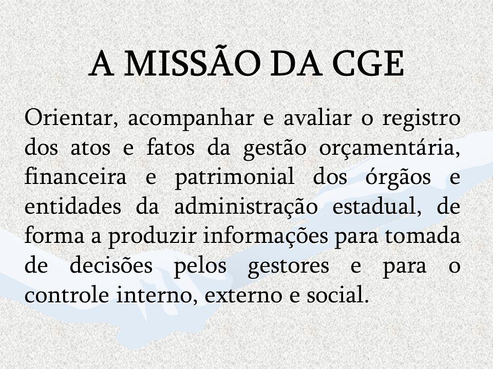 A MISSÃO DA CGE