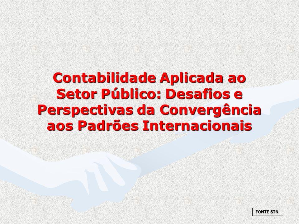 Contabilidade Aplicada ao Setor Público: Desafios e Perspectivas da Convergência aos Padrões Internacionais