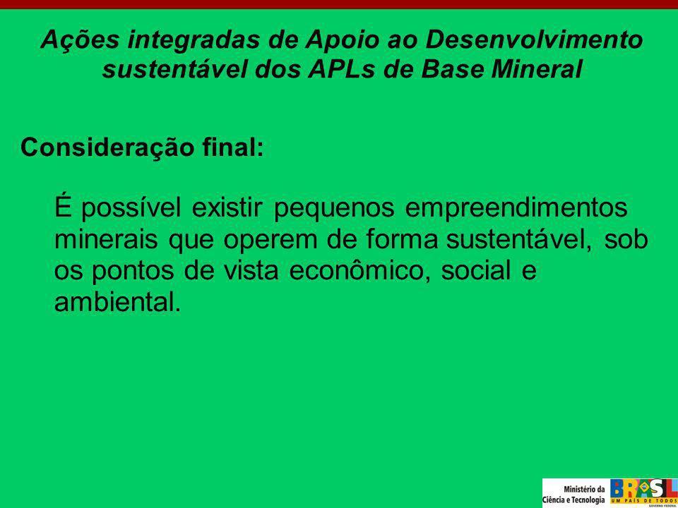 Ações integradas de Apoio ao Desenvolvimento