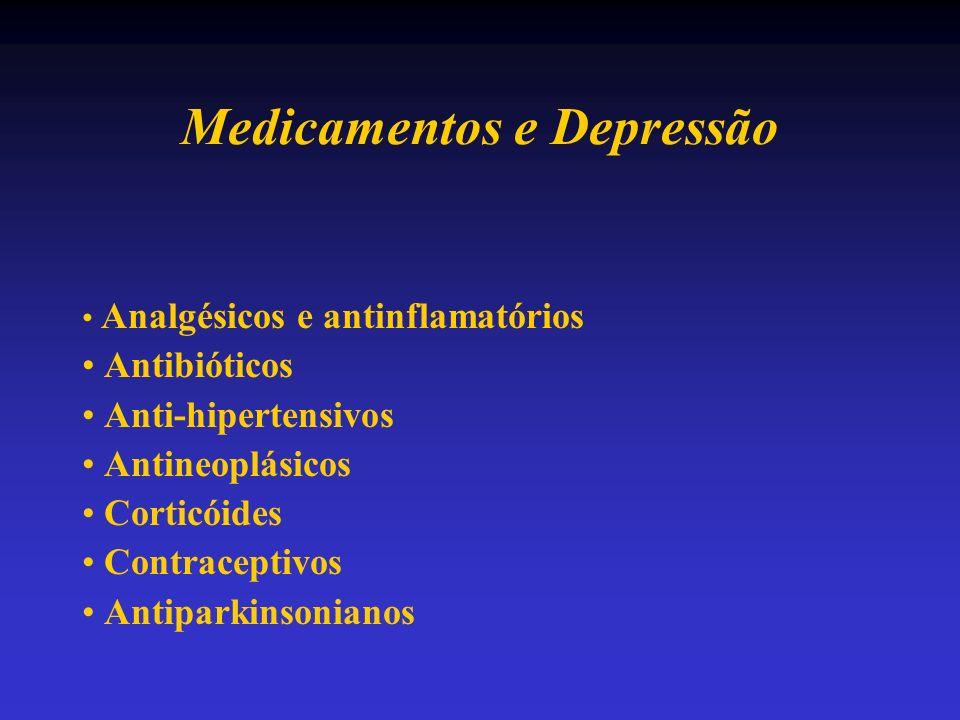 Medicamentos e Depressão
