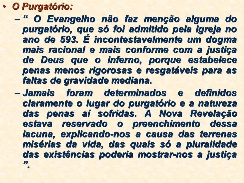 O Purgatório: