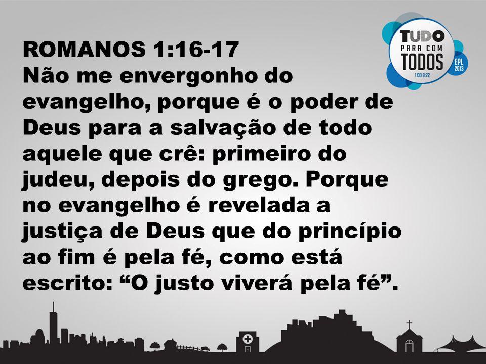 ROMANOS 1:16-17