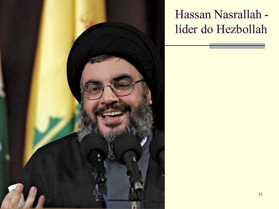 Hassan Nasrallah - líder do Hezbollah