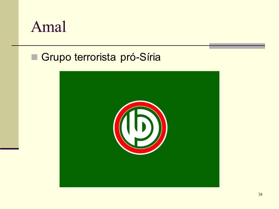 Amal Grupo terrorista pró-Síria