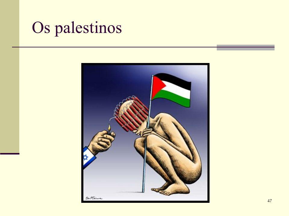 Os palestinos