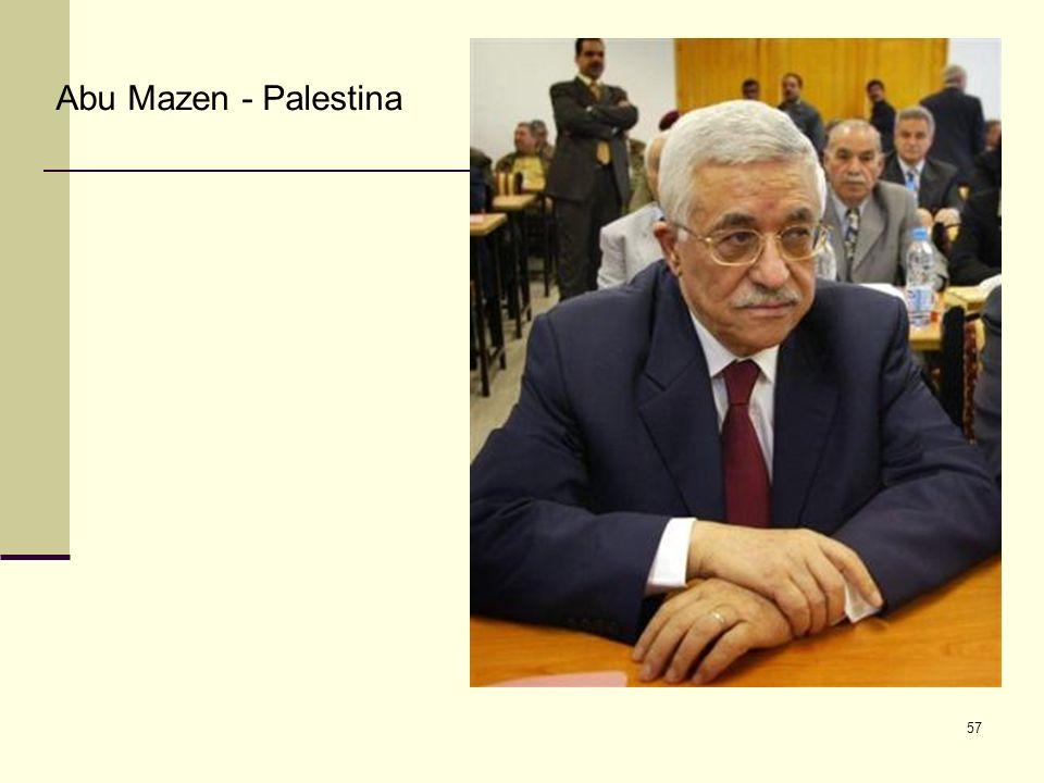 Abu Mazen - Palestina