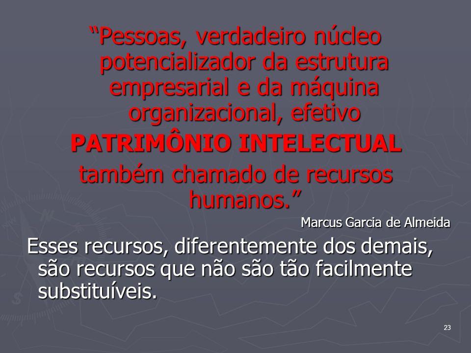 PATRIMÔNIO INTELECTUAL