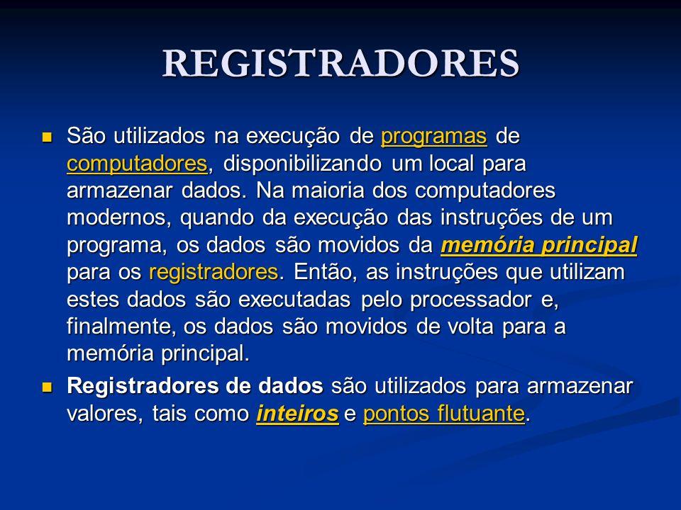 REGISTRADORES