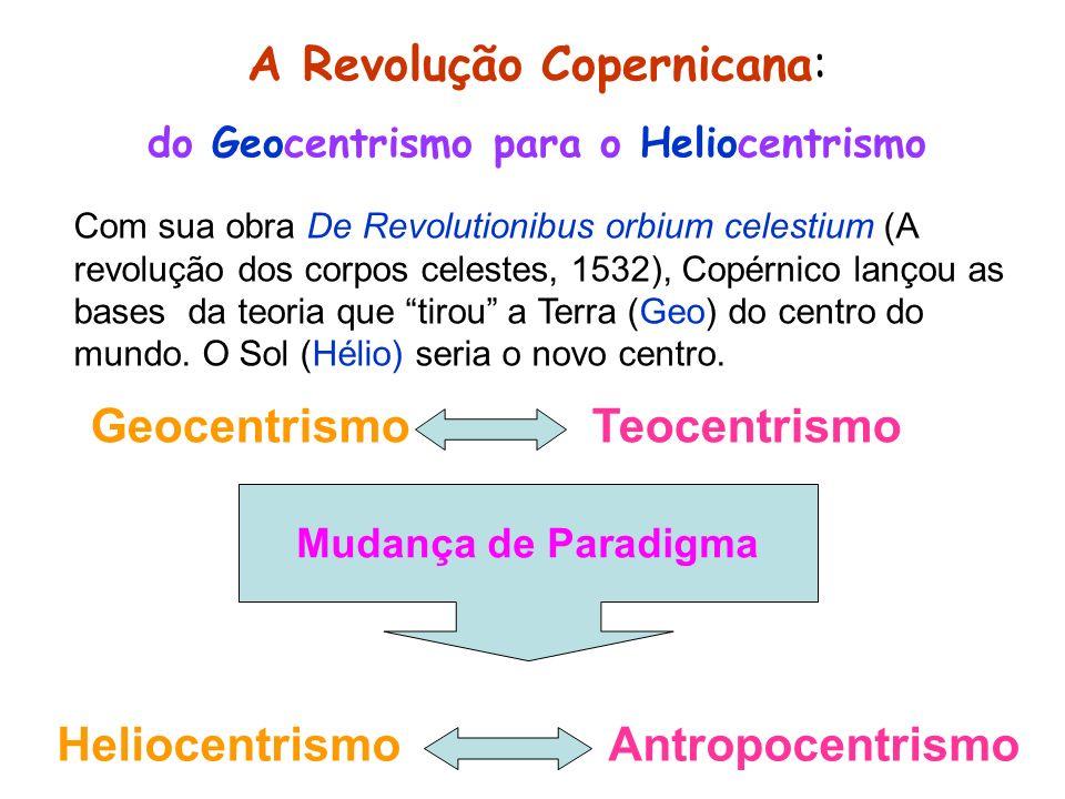 do Geocentrismo para o Heliocentrismo