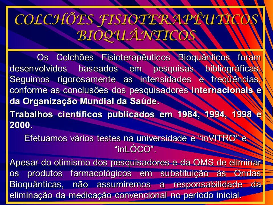 COLCHÕES FISIOTERAPÊUTICOS BIOQUÂNTICOS