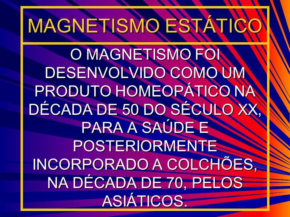 MAGNETISMO ESTÁTICO