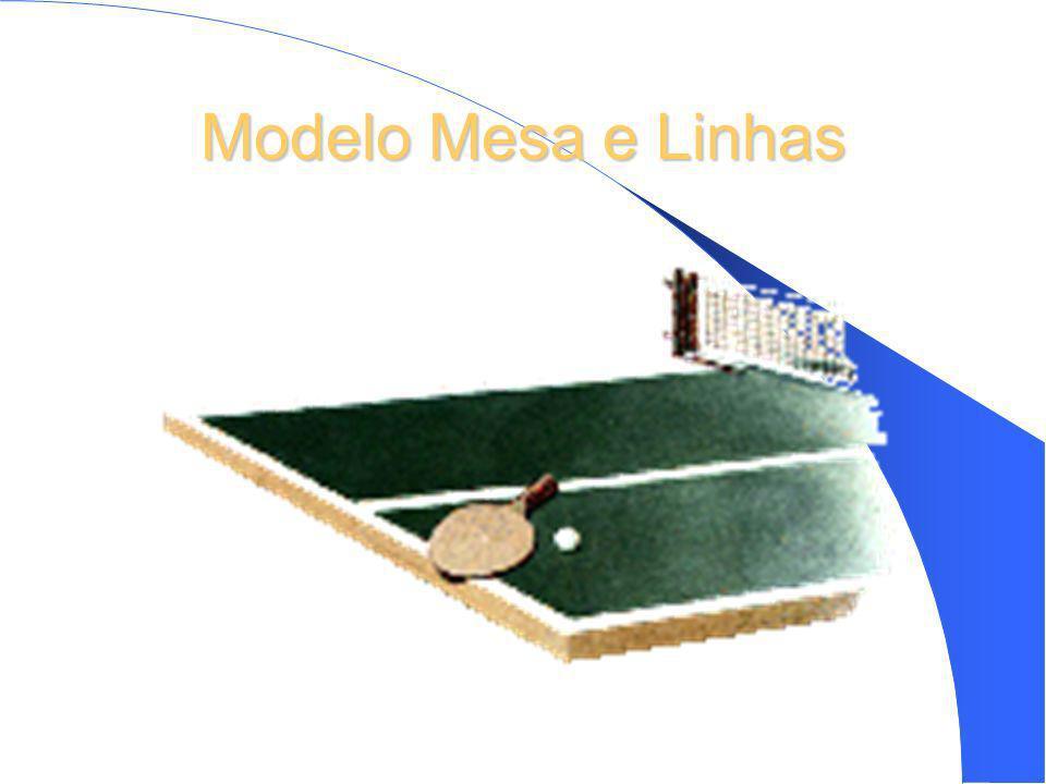 Modelo Mesa e Linhas