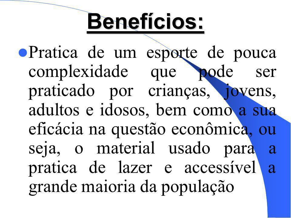 Benefícios: