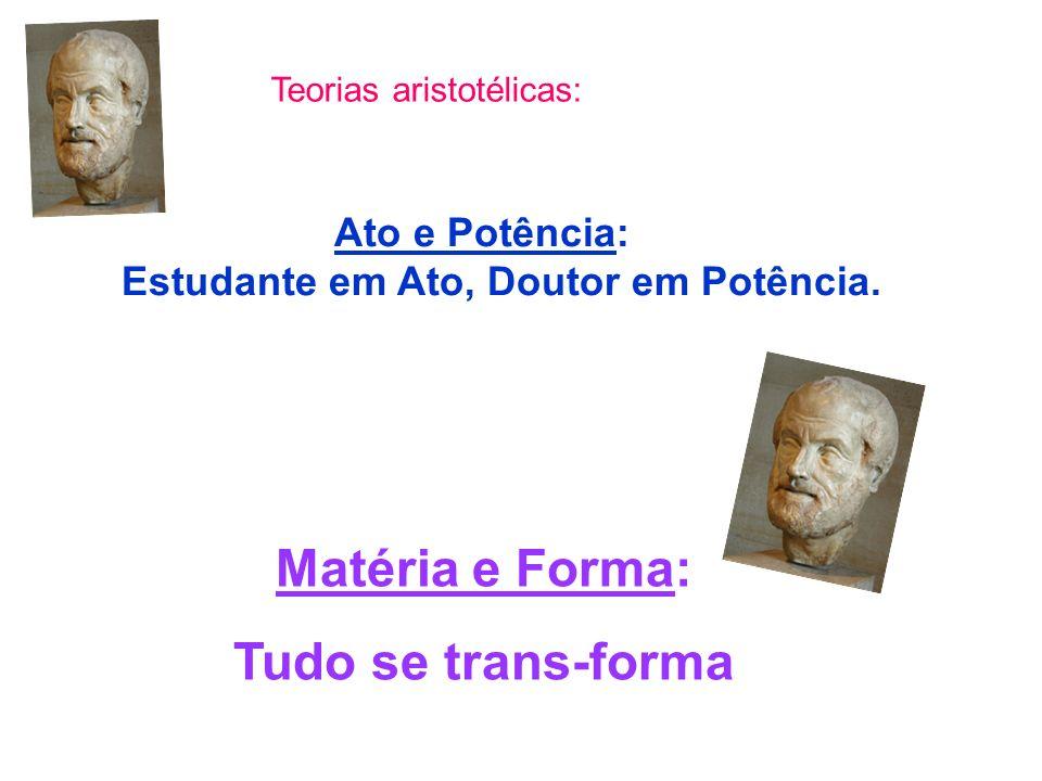 Teorias aristotélicas: