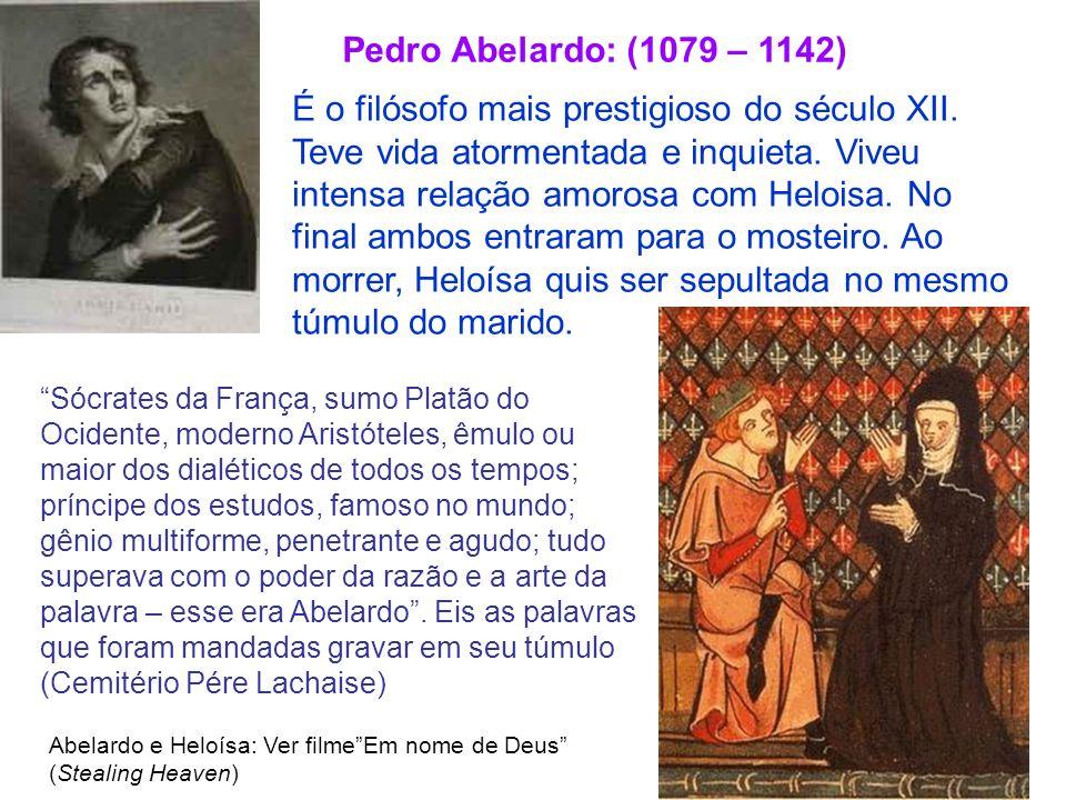 Pedro Abelardo: (1079 – 1142)