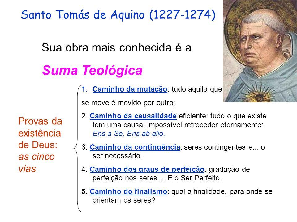 Suma Teológica Santo Tomás de Aquino (1227-1274)