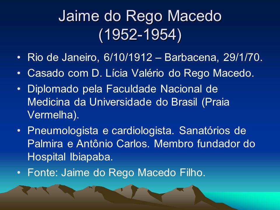 Jaime do Rego Macedo (1952-1954)