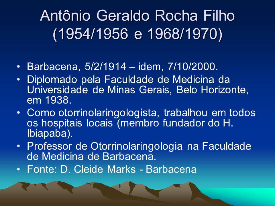 Antônio Geraldo Rocha Filho (1954/1956 e 1968/1970)