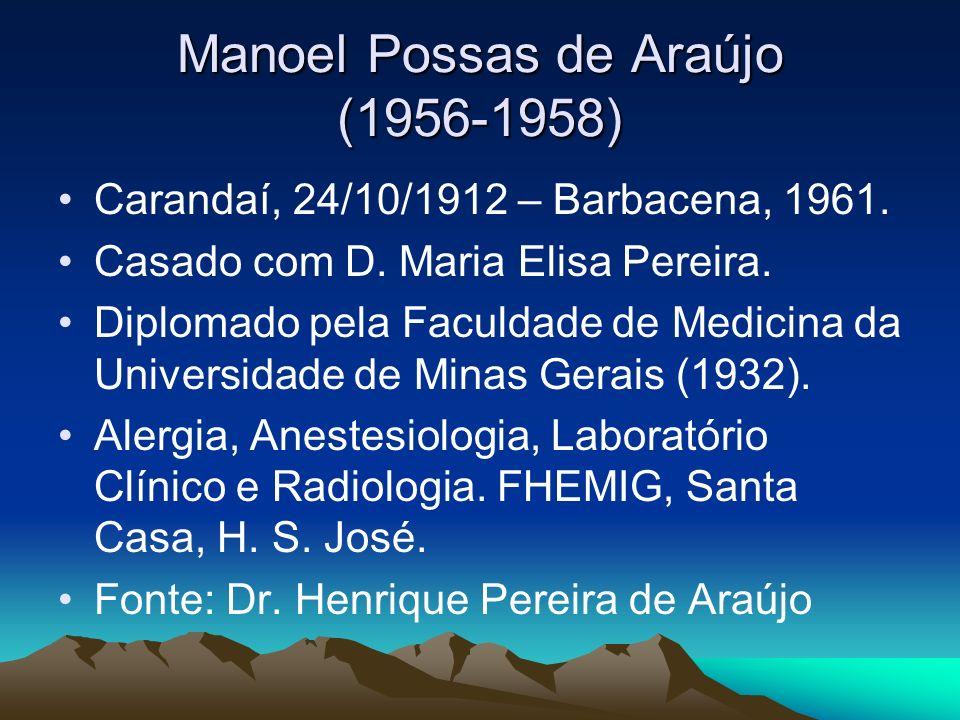 Manoel Possas de Araújo (1956-1958)